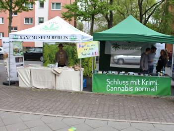 Infostände beim GMM 2017 Berlin