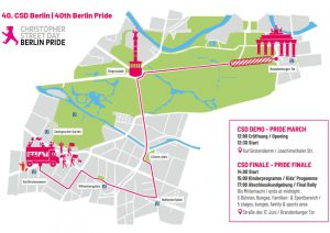 Route des CSD 2018 in Berlin