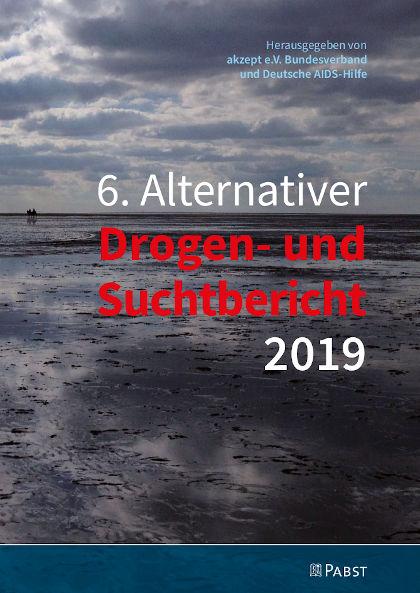 Cover Grafik vom Alternativen Drogen- und Suchtbericht 2019, Deutschland