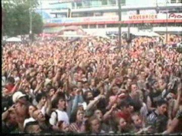 Hanfparade 2002 - Abschlusskundgebung - Für ...